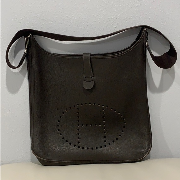 04e954a51f9 Hermes Bags   Herms Evelyne Tgm Leather Shoulder Bag   Poshmark